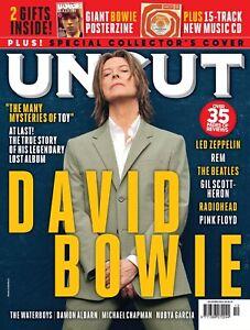 UNCUT MAGAZINE + CD DECEMBER 2021 (DAVID BOWIE, LED ZEP, BEATLES, REM, FLOYD)
