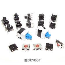 Kit Boutons poussoirs : 4 références pour 17 pcs. Lot, Switch, DIY, Arduino, Pi