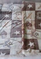 Plaid in pile agnellato caldissimo stampati matrimoniale 210x230 cm. A952