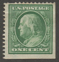 1908 US, 1c stamp, MNG, Benjamin Franklin, Sc 331