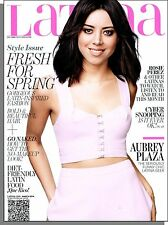 Latina - 2014, March - Aubrey Plaza, Rosie Perez, The No-Makeup Look, Que Rico!