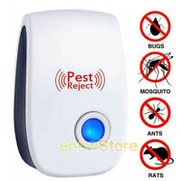 Portable Safe Ultrasonic Pest Reject Mosquito Repeller Anti Insect Mouse Killer