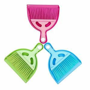 Mini Dustpan And Brush Set Broom Sweep Clean Sofa , dining Table, Car random