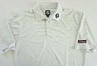 Footjoy Fitleist Mens  SHORT SLEEVE Button-down Collar  Polo Shirt SIZE LARGE L