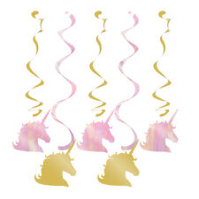 Licorne scintillant Fête d'anniversaire pendant Tourbillon Décorations