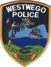 LOUISIANA - Westwego Police patch