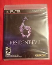 RARE NEW BLACK LABEL Resident Evil 6 RE 6 PS3 PlayStation 3 FIRST PRINT! Zombies