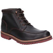 Rockport Marshall Botines Resistente Mocasin Punta Cordones Cuero Zapatos Hombre