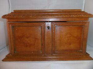 Elegant Antique Tea Caddy. Beautiful honest patina.