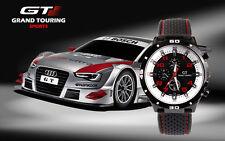 Montre Sport Homme Quartz Analogique Bracelet Silicone GT Grand Touring Pilote +