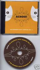 Achoo! Asthmatic Kitty Sampler promo CD SUFJAN STEVENS MY BRIGHTEST DIAMONDS