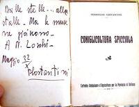 1932 CONIGLICOLTURA BELLUNESE DI FERRUCCIO COSTANTINI EDIZ. AUTOGRAFA BELLUNO