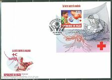 NIGER 2013 BATTLE AGAINST MALARIA SOUVENIR SHEET  FDC