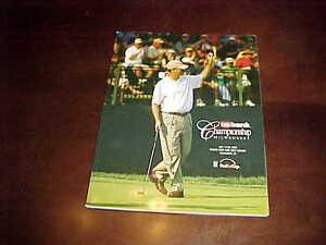2008 US Bank Championship PGA Golf Program Milwaukee Richard S Johnson Winner