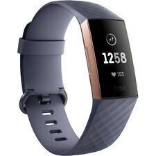 Fitbit Charge 3 - Blue-Grey/Rose Gold Aluminium