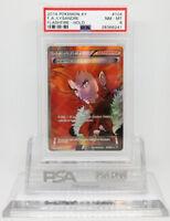 Pokemon FLASHFIRE LYSANDRE 104/106 FULL ART HOLO FOIL PSA 8 NM-Mint #28366241