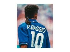 MAGLIA CALCIO NAZIONALE ITALIA ROBERTO BAGGIO 10 USA 94 1994 NUOVA L