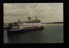 fq0108 - Belgian Oostende-Dover Ferry - Prins Albert at Dover - photograph 6x4