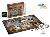 Oakie Doakie - Bud Spencer & Terence Hill Puzzle Western Photo Wall - New/Boxed
