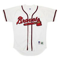 Vtg Rare MLB Atlanta Braves Russell Athletic Diamond Collection Jersey. Size 44