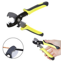 Multifunctional Tool Cable Stripper Electrical Wire Cutter Scissors Pliers 180mm