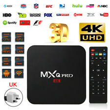 UK TV BOX SMART Android 7.1 2019 4K MXQ Pro WiFi Quad Core 3D Media Player
