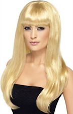 Babelicious Wig, Blonde, Long, Straight with Fringe (US IMPORT) COST-ACC NEW