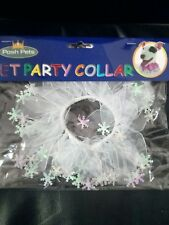 PARTY FANCY DRESS UP  COLLAR / RUFF FOR SMALL DOGS PUPPIES PETS
