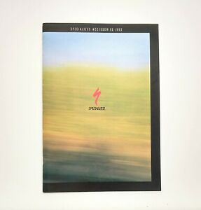 Specialized 1992 Bicycle Accessories Catalog Includes Components