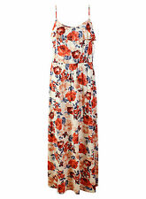 George Round Neck Floral Sleeveless Dresses for Women