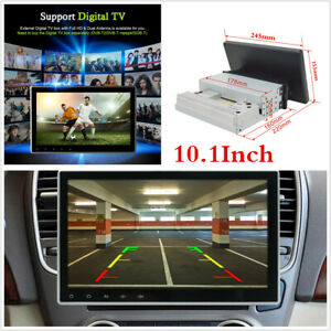 10.1Inch Android 9.1 1080P Touch Screen Car Stereo Radio GPS Wifi Mirror Link