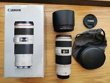 70-200mm f/4 Canon EF L LENTE USM IS. ottime CONDIZIONI & in Scatola