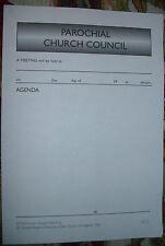 AGENDA FORM - PAROCHIAL C. COUNCIL  SG31 (SPCK) CHURCH OF ENGLAND STATIONERY