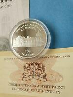 Gold Au 999 COA BULGARIA 20000 levs 1999,120th Anniversary Bulgarian Bank