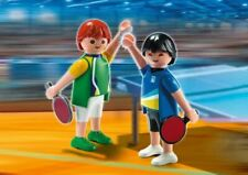 Playmobil Sports & Action Ping Pong Olympic Game Players Athletes Set 5197 New +