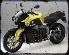 Bmw K1300R 11 3 A4 Metal Sign Motorbike Vintage Aged