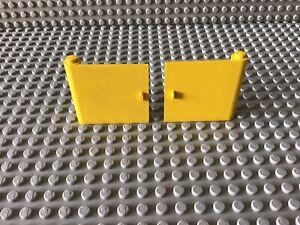 Lego Türen,gelb,70er,alt,Eisenbahn,City (6)