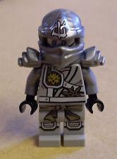 LEGO NINJA Ninjago Zane TITANIUM-personaggio GRIGIO CASCO Aladdin arabo Sain NUOVO