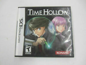 TIME HOLLOW (Nintendo DS, 2007) CASE & BOOKLET ONLY No Game