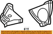 CHRYSLER OEM 01-10 PT Cruiser Fender-Side Shield Left 4724521AB