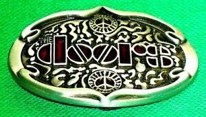 "Belt Buckle ""DOORS"" Music, Fit 4 cm Wide Belt, DIY, Custom Metal Casting."