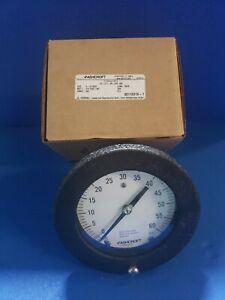 Ashcroft Duragauge 45 1377 SS 028 60# GAUGE 316 TUBE/SKT. 1/4 NPT BACK
