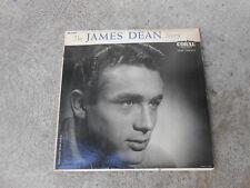 JAMES DEAN STORY-STEVE ALLEN-GEORGE CATES-LP-CORAL 57099-1957-VG+