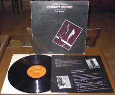 LP TONY RUSCONI Cowboy esotico OST (L'Orchestra 81) avant free jazz insert EX!