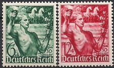 Nazi Germany Third Reich Mi# 660-661 MH 5th Anniversary of Hitler's leadership *