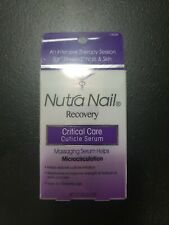 Nutra Nail Recovery Critical Care Cuticle Serum 0.85oz / 25ml New In Box