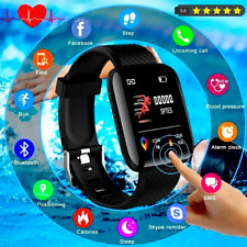2021 Bluetooth Smart Watch Phone Mate For iPhone IOS Android Samsung Waterproof