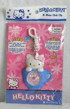 Hello Kitty Alarm Clock Clip Light Sanrio 2001 NIP