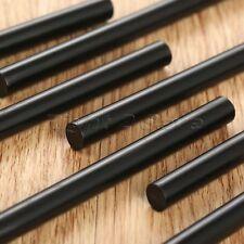 10Pcs 7mm*100mm Hot Melt Glue Gun Sticks EVA Glitter Powder Black DIY Art Crafts