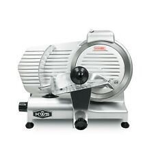 Kws Premium Commercial 320w Electric Meat Slicer 10 With Stainless Blade